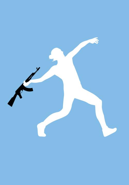 3. wyróżnienie - Dawid Celek (POL) - Tryptyk: Pokój poprzez sport /Peace through sport