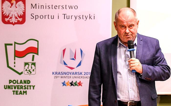 Profesor Alojzy Nowak/Fot.: AZS