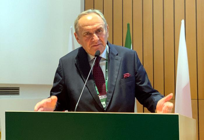 Prezes PKOl Andrzej Kraśnicki/Fot.: AZS