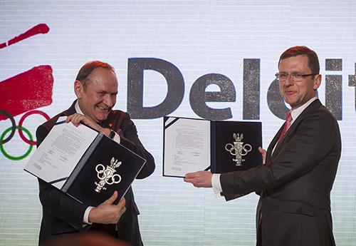 Deloitte Partnerem PKOl/Fot.: Szymon Sikora