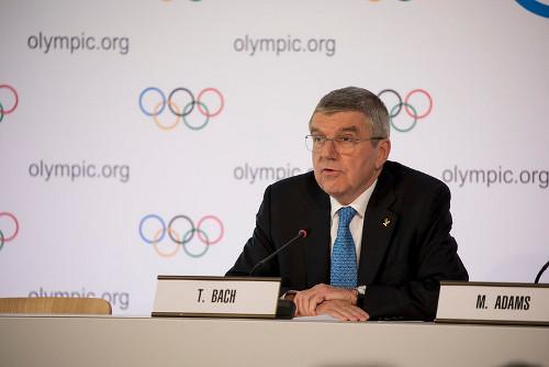 Przewodniczący MKOl Thomas Bach/Fot.: IOC