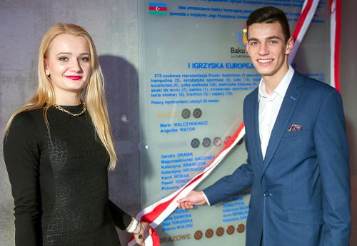 Angelika Wątor iKarol Robak/Fot.: Szymon Sikora