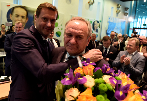 Adam Krzesiński and Andrzej Kraśnicki/Photo: Tomasz Piechal