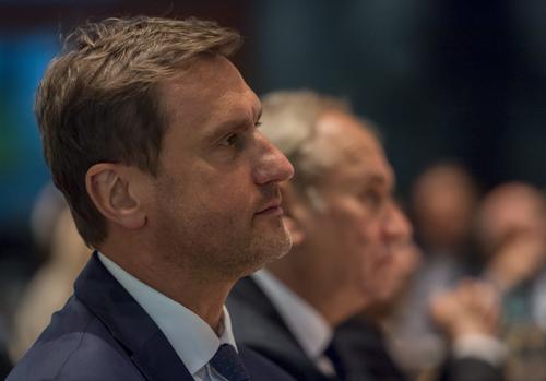 Sekretarz Generalny PKOl Adam Krzesiński/Fot.: Szymon Sikora