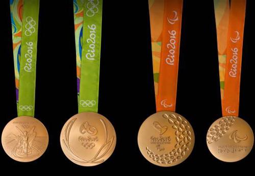 Medale naIO Rio 2016/Fot.: Rio 2016