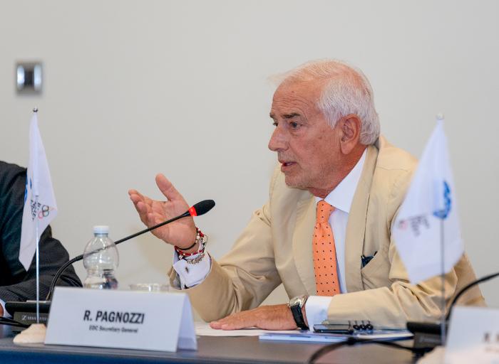 Sekretarz Generalny EOC Raffaele Pagnozzi/Fot.: EOC – Fabio Bettini