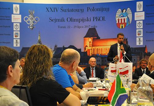 """PKOl wspólnie ze Stowarzyszeniem """"Wspólnota Polska"""" organizuje Polonijny Światowy Sejmik Olimpijski/Fot.: PKOl"""