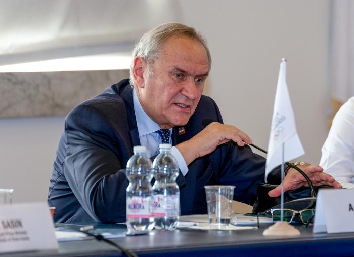 Prezes PKOl Andrzej Kraśnicki/Fot.: EOC – Fabio Bettini