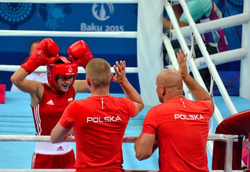 Sandra Drabik awansowała dofinału/Fot.: Tomasz Piechal