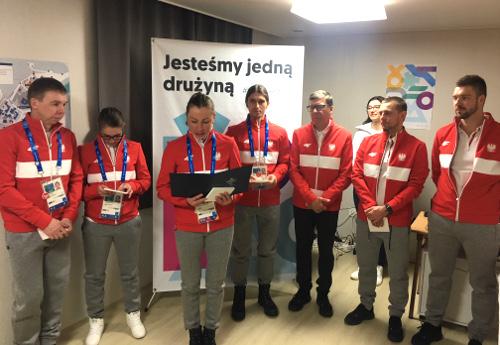 Fot.: Polska Misja Olimpijska