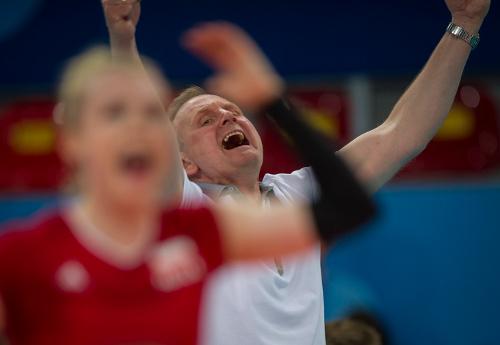 Szczęśliwy Jacek Nawrocki/Fot.: Szymon Sikora