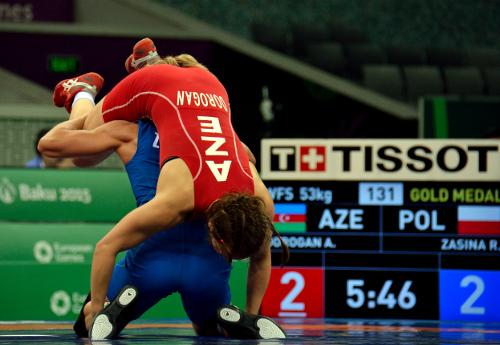 Roksana Zasina podczas walki/Fot.: Tomasz Piechal