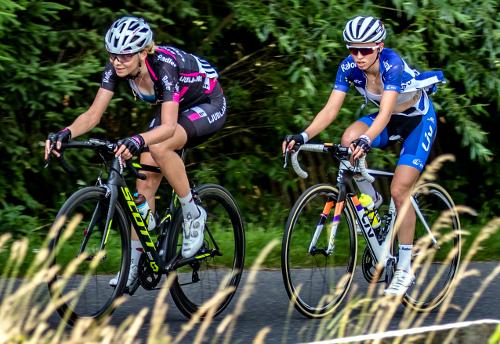 Od lewej: Anna Plichta iKatarzyna Niewiadoma/Fot.: Dariusz Krzywański